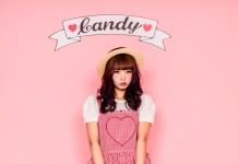 春物新作*LOVE IN CANDY ♡ APRON ONE-PIECE