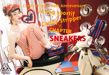 TRIPLE COLLABORATION SNEAKERS予約会スタート!