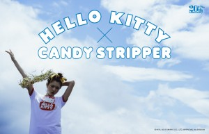 HELLO KITTY×Candy Stripper