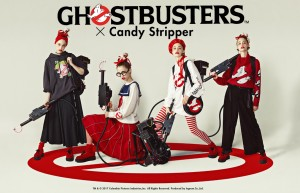 GHOSTBUSTERS×Candy Stripper