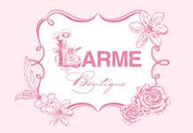 期間限定SHOP「LARME boutique」がオープン!