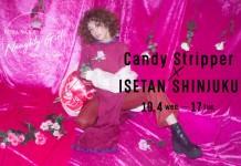 Candy Stripper×ISETAN SHINJUKU 仲里依紗さんコラボアイテム発売
