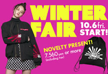 WINTER FAIR開催!