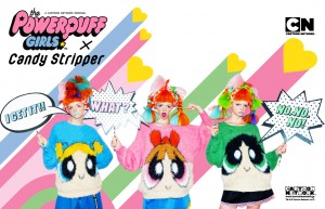 THE POWER PUFF GIRLS×Candy Stripper