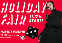 HOLIDAY FAIR開催!