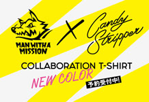 MAN WITH A MISSIONコラボTシャツ別注カラー本日予約開始!