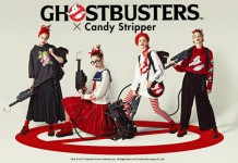 「GHOSTBUSTERS×Candy Stripper」WEB CATALOG公開!