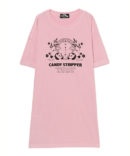 CANDY IN TOKYO CITY TEE ONE-PIECE
