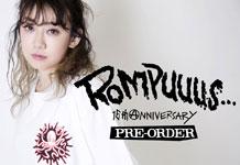 ROMPUS NEW COLLECTION 先行予約スタート!