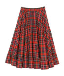 SWITCH OVER CHECK SKIRT