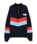CANDY HALF ZIP SWEAT