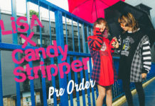 LiSA×Candy Stripperコラボアイテム 受注受付スタート!
