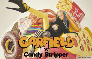 GARFIELD×Candy Stripper