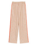 LINED CHECK PANTS