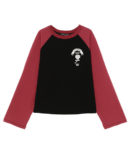 CANDY CLUB RAGLAN TOPS