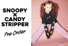SNOOPY×Candy Stripper T-Shirt COLLECTIONリリース!