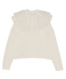 FRILLY COLLAR TOPS