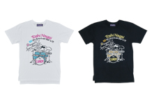 TOSHI×G-WORKS×Candy StripperコラボTシャツ復刻!