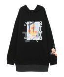 OPTIMISM CANDY LAYERED HOODIE