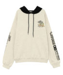 CANDYS CHUM BICOLOR HOODIE