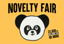 NOVELTY FAIR開催!