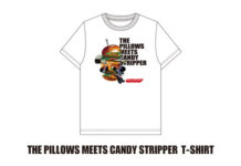 the pillows×Candy StripperコラボTシャツのリリースが決定!