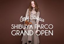 渋谷PARCOにGRAND OPEN!