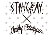 Candy Stripper × STINGRAYコラボMA-1のリリースが決定!