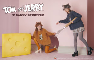TOM and JERRY ♡ Candy  Stripper