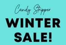 Candy Stripper WINTER SALE & HAPPY BAG情報