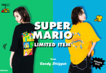 「PARCO×SUPER MARIO」CANDY STOREにて本日発売!
