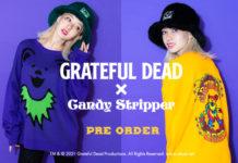「GRATEFUL DEAD(グレイトフルデッド)」とのコラボアイテムのリリースが決定!