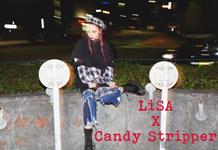 LiSA×Candy Stripperコラボアイテムのサンプル展示が決定!